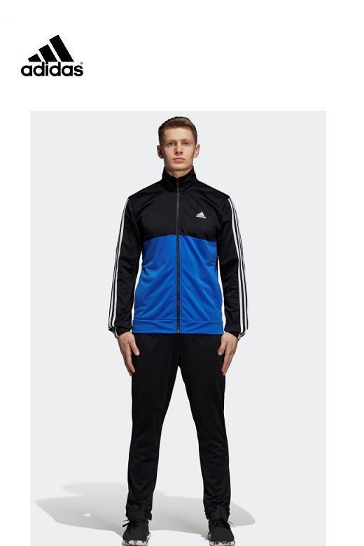 Adidas férfi melegítő együttes poly 3 stripe basic