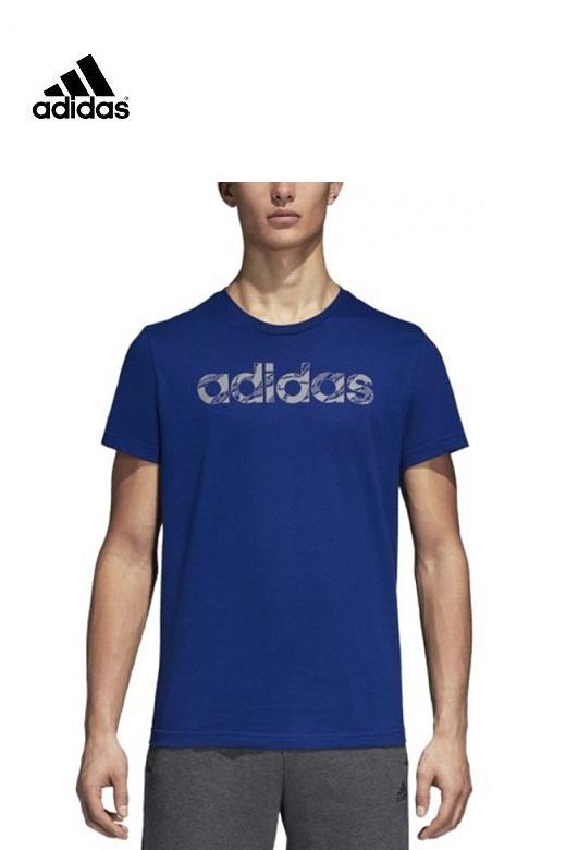 Adidas férfi póló Linear Camo