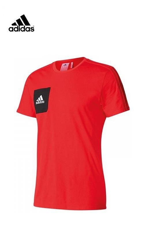 Adidas gyerek póló Tiro 17 Tee Y Piros