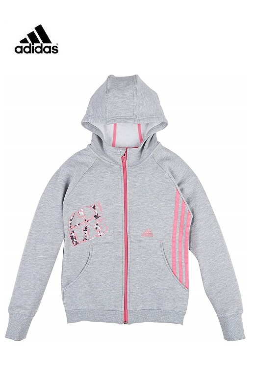 Adidas RI lány cipzáros pulóver