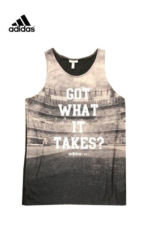 Adidas Neo férfi trikó M graphic tank
