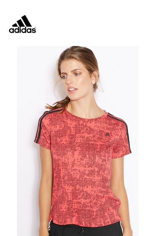 Adidas női póló Essentials piros