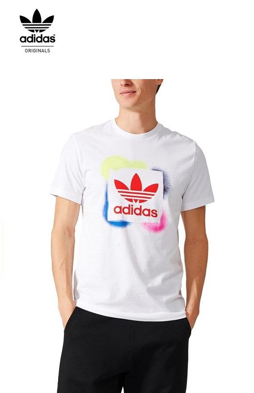 Adidas Férfi póló Rectangle