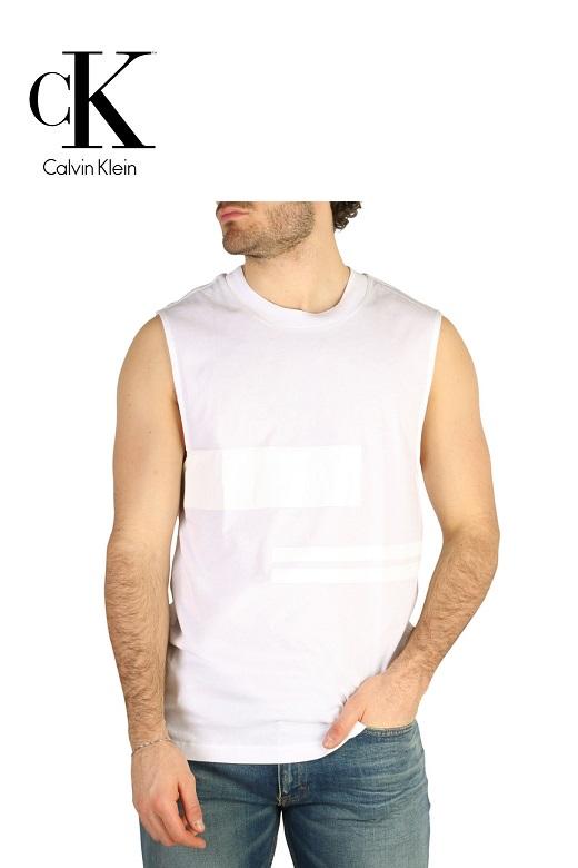 Calvin Klein férfi ujjatlan póló fehér J30J305214