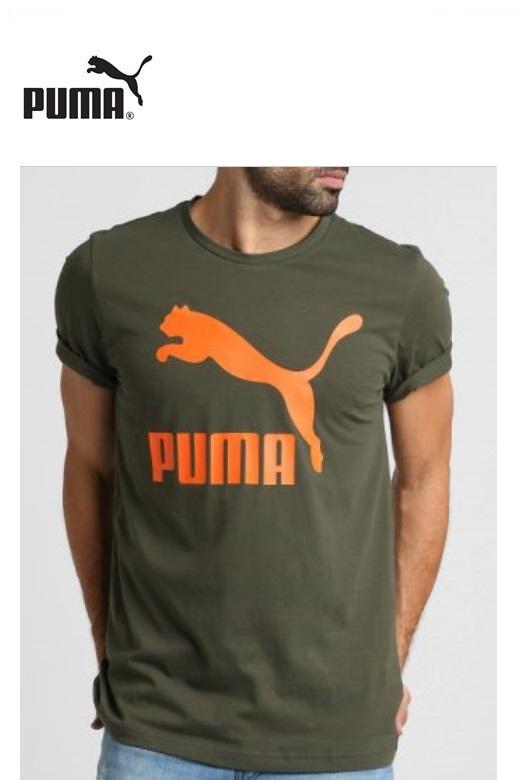 Puma Classic logo férfi póló rövid ujjú