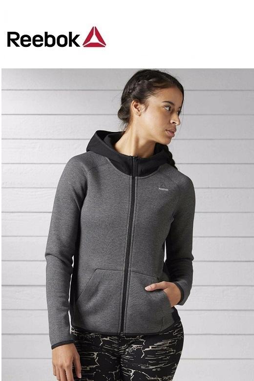 Reebok női edző pulóver Qc