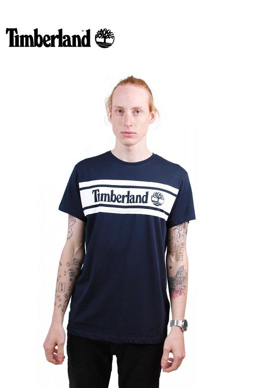Timberland férfi póló sötétkék