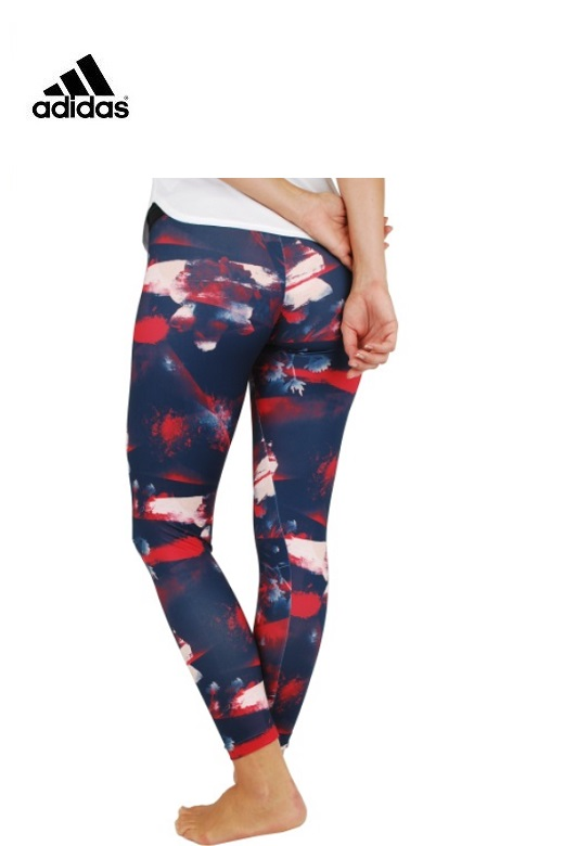 Adidas női leggings Flower